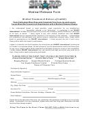 Sharp Medical Release Form