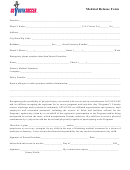 Usys/uss Medical Release Form
