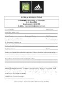 Coerver Medical Release Form