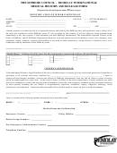Demolay International Medical History And Release Form