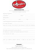 Schwoegler's Donation Request Form