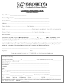 Brown's Orchards & Farm Market Donation Request Form