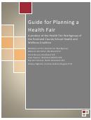 Health Fair Planning Template Pack