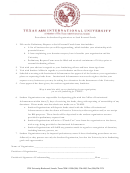 Texas A&m International University Preliminary Request To Seek External Funds