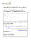 Sacramento Ballet Ticket Request Form