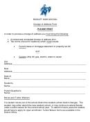 Nicolet High School Change Of Address Form