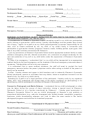Gleason's Waiver & Release Form