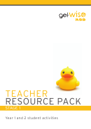 Asb Getwise Primary Teacher Resource Pack