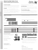 Form Hb42972m - Medco By Mail Order Form
