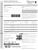 Form He58918 - Highmark Blue Shield Medco By Mail Order Form