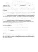 Contract With Stock Brokertemplate