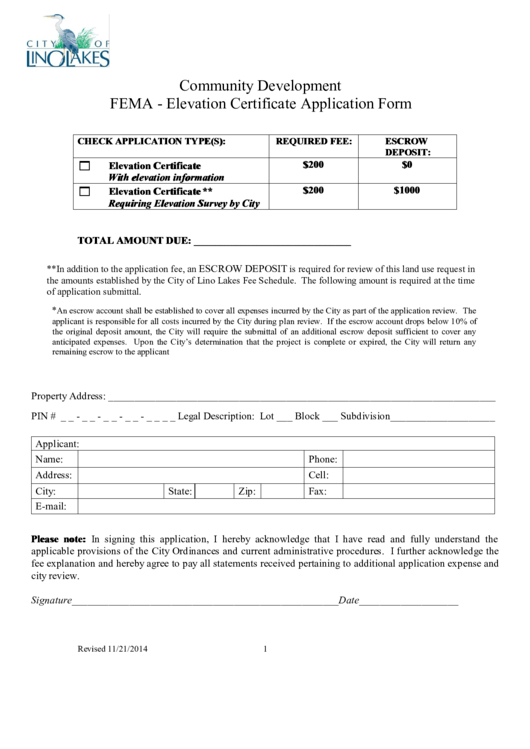Top Fema Elevation Certificate Form Templates free to download in ...