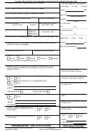 Ds Form 156 - Nonimmigrant Visa Application