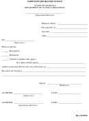 Employee Separation Notice