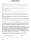 Diocese Of St. Augustine Parent Permission And Release Of Liability Parish Field Trip Participation