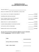 Raider Challenge One Rope Bridge Score Sheet