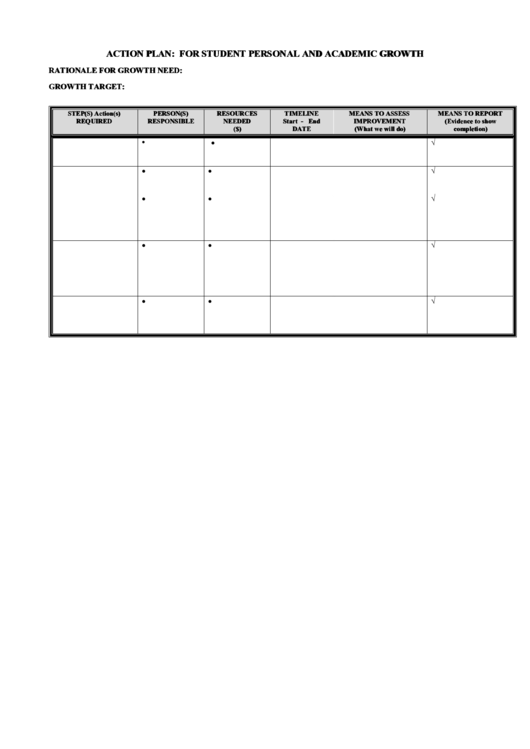 allergy action plan template - top 5 student action plan templates free to download in