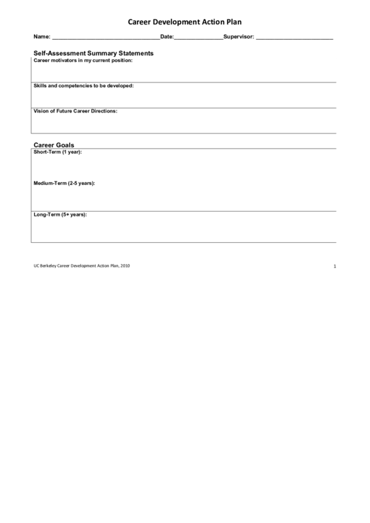 Career Progression Plan Template | Top 5 Career Development Plan Templates Free To Download In Pdf Format