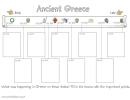 Ancient Greece Timeline Template