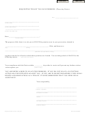 Requesting Tenant To Leave Premises (three-day Notice) Template