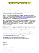 Sample Resignation Acknowledgement Letter Template