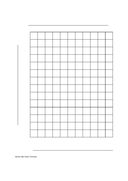 Blank Bar Graph Paper