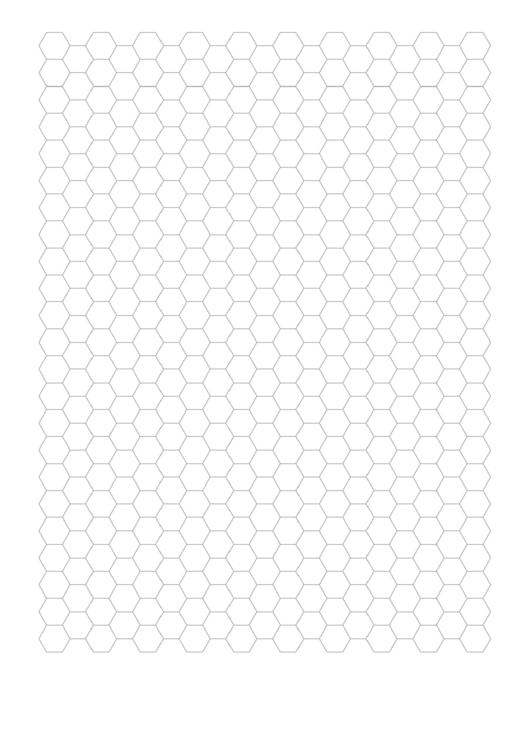 Hexagon Graph Paper Printable pdf
