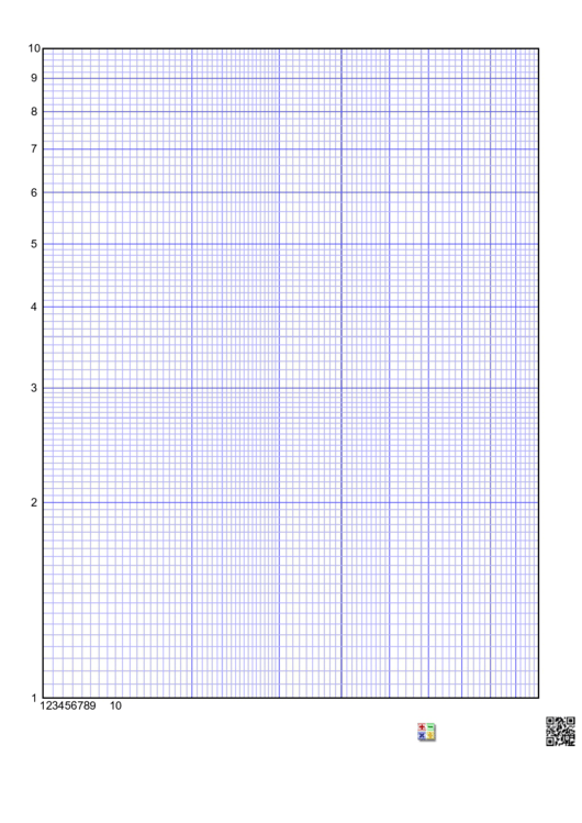 Math Graph Paper Template Printable pdf