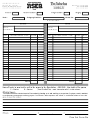 Score Card Template (soccer/touch Football/flag Football/rugby)