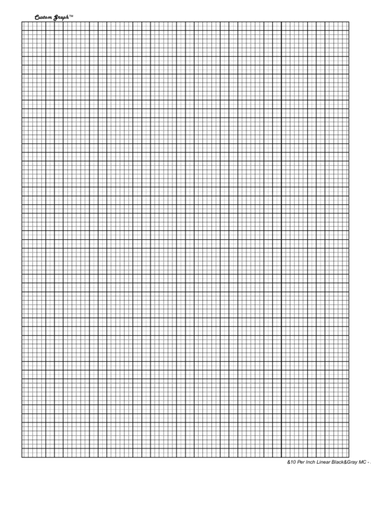 10 per inch graph paper printable pdf download