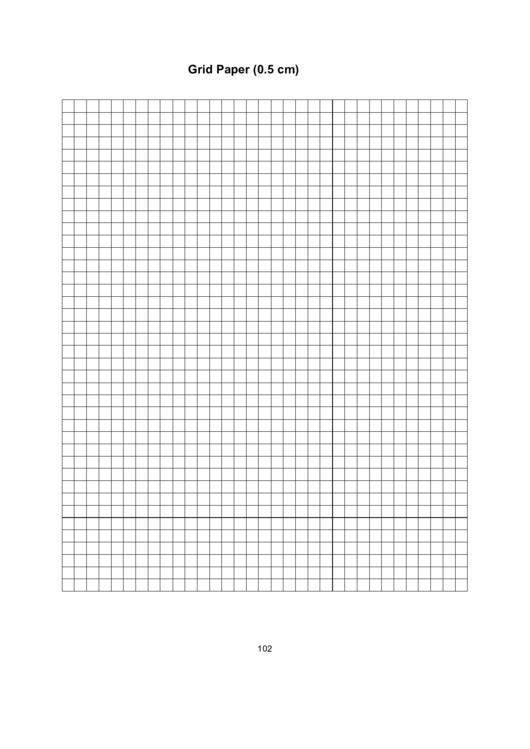 Grid Paper (0.5 Cm)