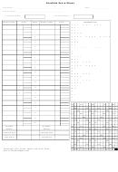Scrabble Score Sheet