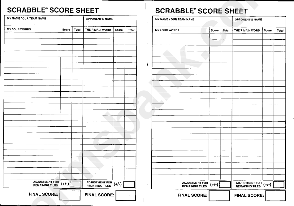 scrabble score sheet printable pdf download