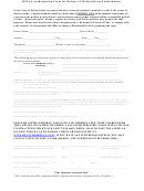 Hipaa Authorization Form For Release Of Medical Record Information