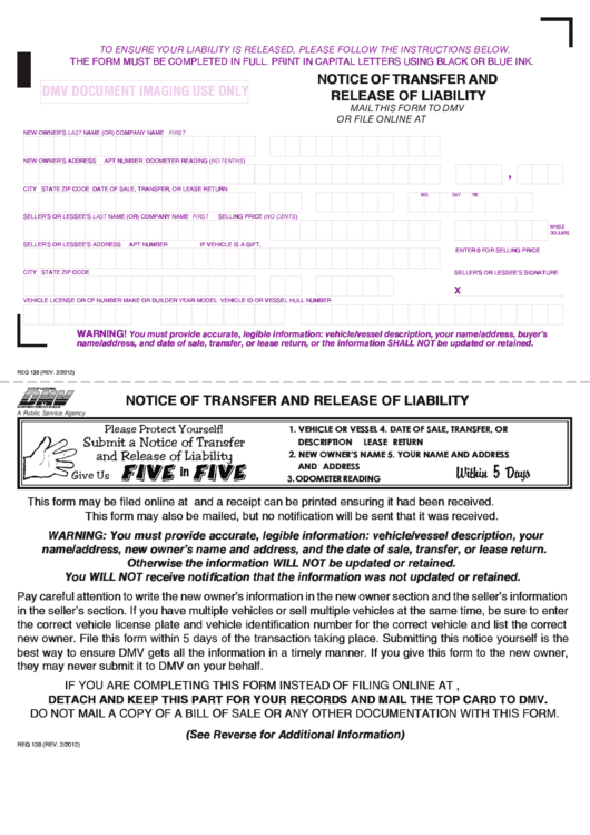 Release Of Liability Form Ca >> Top Ca Dmv Release Of Liability Form Templates Free To Download In