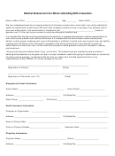 Medical Release Form For Minors Attending With A Guardian