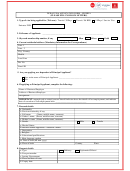 Dubai Visa Application Form - Nigeria