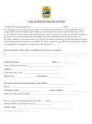 Vysa Medical Release Form