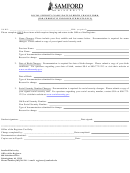 Social Security/name/date Of Birth Change Form