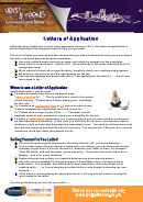 Letters Of Application Instructions