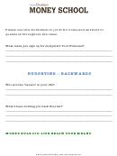 Budgeting Worksheet Template