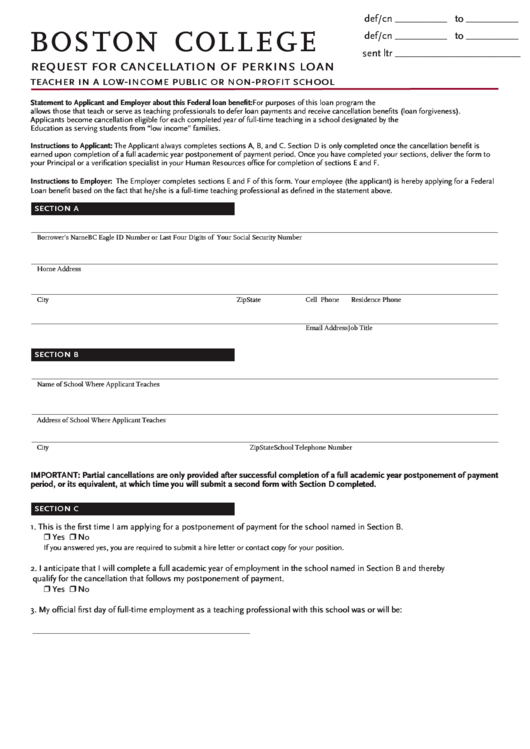 Top Teacher Loan Forgiveness Form Templates free to download in ...