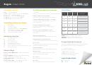 Java Regex Cheat Sheet