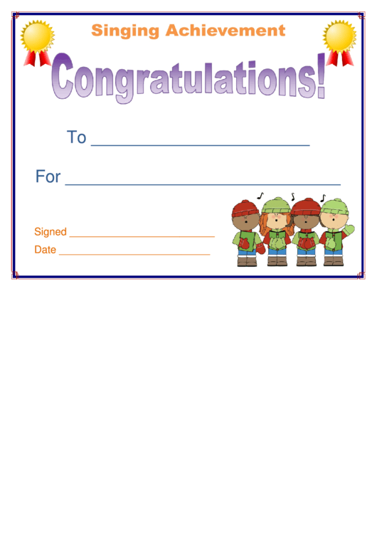 32 congratulations certificate templates free to download in pdf