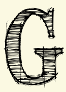 Letter G Template