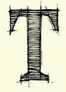 Letter T Template