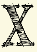 Letter X Template