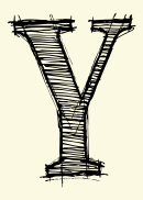 Letter Y Template