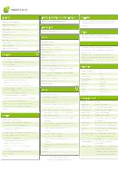 Microformats Cheat Sheet