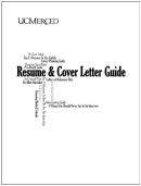 Resume And Cover Letter Samples